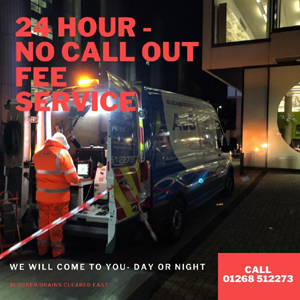 24 hour no call out fee service