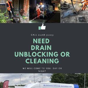 drain unblocking